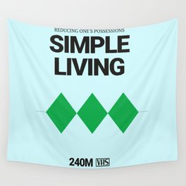 SIMPLE LIVING #4 Wall Tapestry