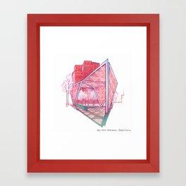 NYC Pride: AIDS Memorial Framed Art Print