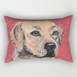 Labrador Retriever Portrait Rectangular Pillow