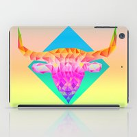 bull iPad Cases featuring Bull  by Anders Teigene