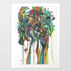 My Favorite Zelda Weapons Art Print