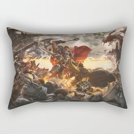Noxian-Demacian war Rectangular Pillow