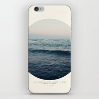 storm iPhone & iPod Skins featuring In Storm by Tina Crespo