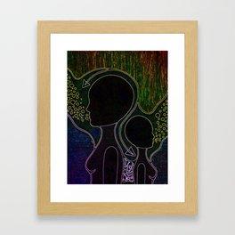 Neon Trip 2 Framed Art Print