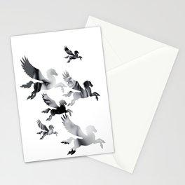 Facing Pegasus Stationery Cards