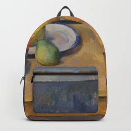 """Paul Cezanne """"Still Life with Apples and Pears"""" Backpack"""
