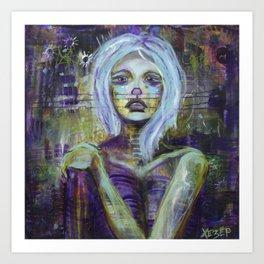 Vanishing - Consumed By Sadness Art Print