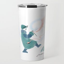Winter Knitter Travel Mug