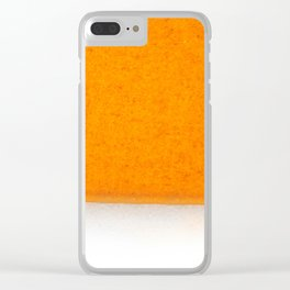Orange and Yellow Clear iPhone Case