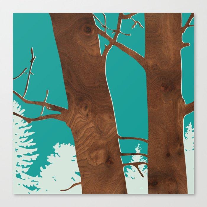 red alder Canvas Print