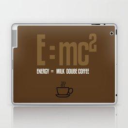 e=mc2, energy, milk, coffee Laptop & iPad Skin