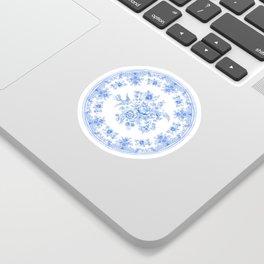Blue asiatic pheasant Sticker
