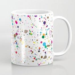 Confetti Paint Splatter Coffee Mug
