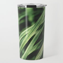 Blade of Grass Close Up Travel Mug