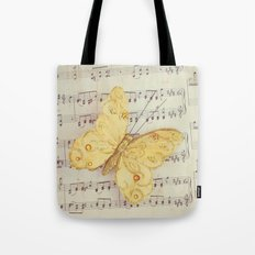 Dance of the Butterfly Tote Bag