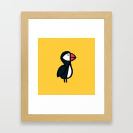 Puffin Bird Framed Art Print