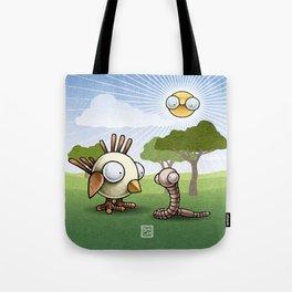 Don't eat me, please! Tote Bag