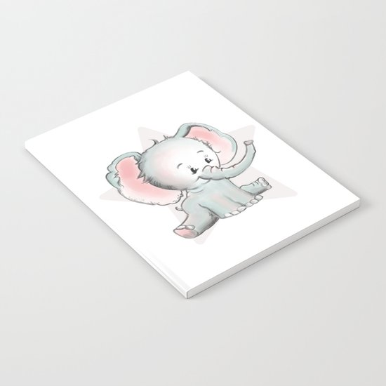 Baby Elephant Notebook