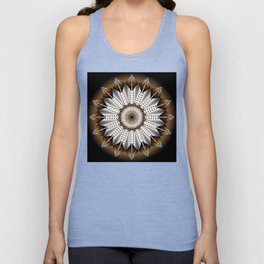 Feather Design Unisex Tank Top