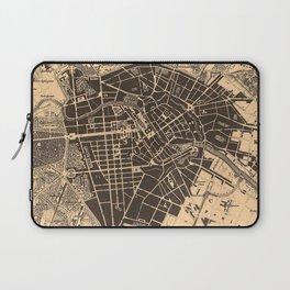 Vintage Map of Berlin Germany (1907) Laptop Sleeve