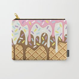Neapolitan Ice Cream with Sprinkles Carry-All Pouch
