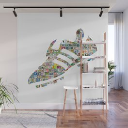Philately Copa Mundial Soccer Cleats Wall Mural