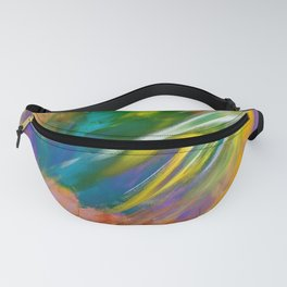 Colorful Winds Fanny Pack