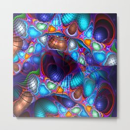 Colorful Abstract 1 Metal Print