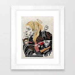 Kurt. Framed Art Print