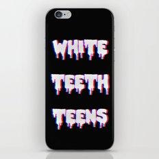 White Teeth Teens iPhone & iPod Skin