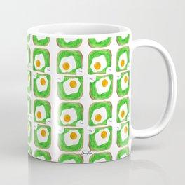 Avocado Toast with Egg - Yum! Coffee Mug