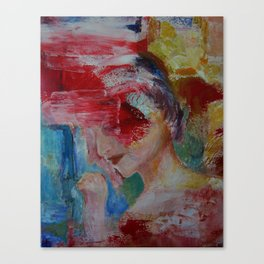 abstract figurative 2 Canvas Print