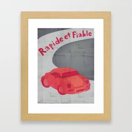Fast and Reliable Framed Art Print