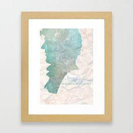 Sherlock 0.3 Framed Art Print