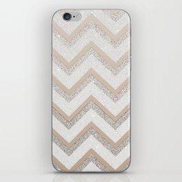 NUDE CHEVRON iPhone Skin