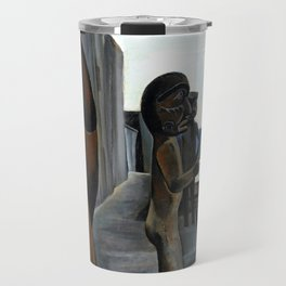 Emily Carr - Blunden Harbour - Canada, Canadian Oil Painting - Group of Seven Travel Mug