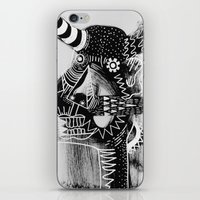 cow iPhone & iPod Skins featuring COW by Benson Koo