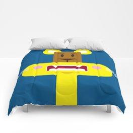Cute Cartoon Lioness Comforters
