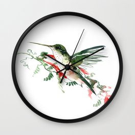 Hummigbird Wall Clock