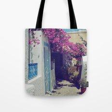 Santorini Walkway VI Tote Bag