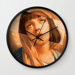 Virgin Mia Wall Clock