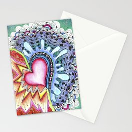 Opposites Attract Stationery Cards