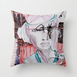 Intuitive Flight Throw Pillow