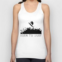 surfer Tank Tops featuring Surfer by Emir Simsek