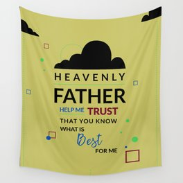 Heavenly Father Wall Tapestry