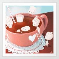 drink Art Prints featuring Drink by Joelle Murray