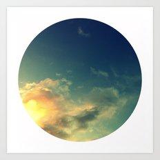 Toward A Secret Sky Art Print