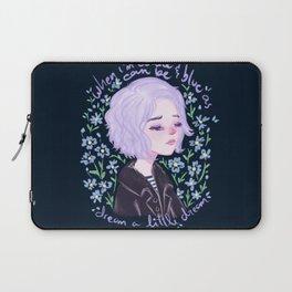 Riley Blue by Ane Teruel Laptop Sleeve