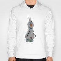 olaf Hoodies featuring Olaf  by Sierra Christy Art
