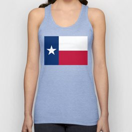 Texas State Flag, Authentic Version Unisex Tank Top